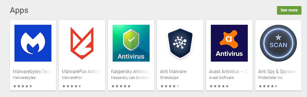 Install Anti-Malware app